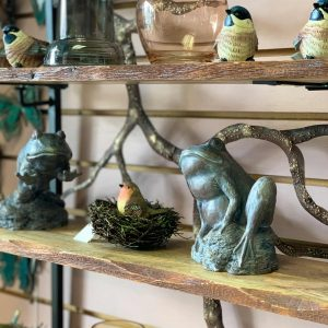 ceramic garden animals and decor