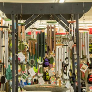colorful windchimes for garden